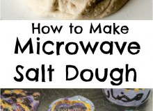 Microwave Salt Dough