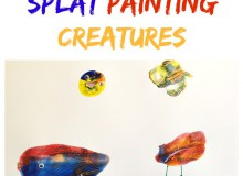 Splat Painting Creatures