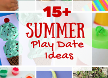 15  Summer Play Date Ideas