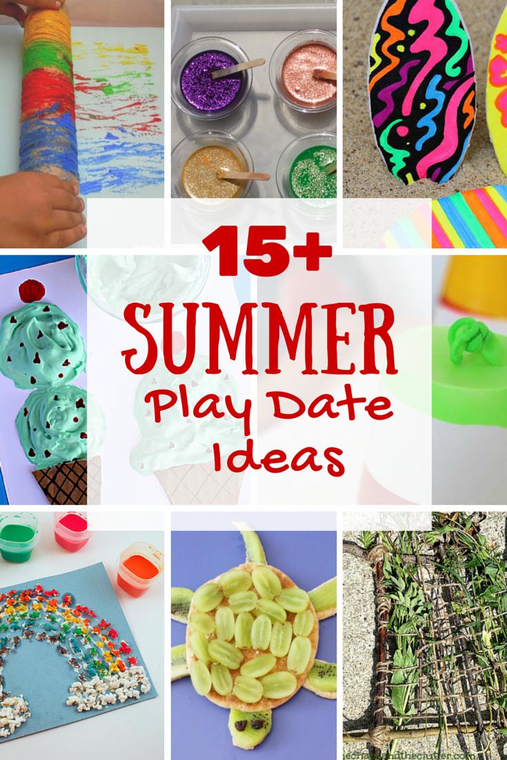 15+ Summer Play Date Ideas