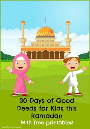 30 Days of Good Deeds for a Ramadan Jar
