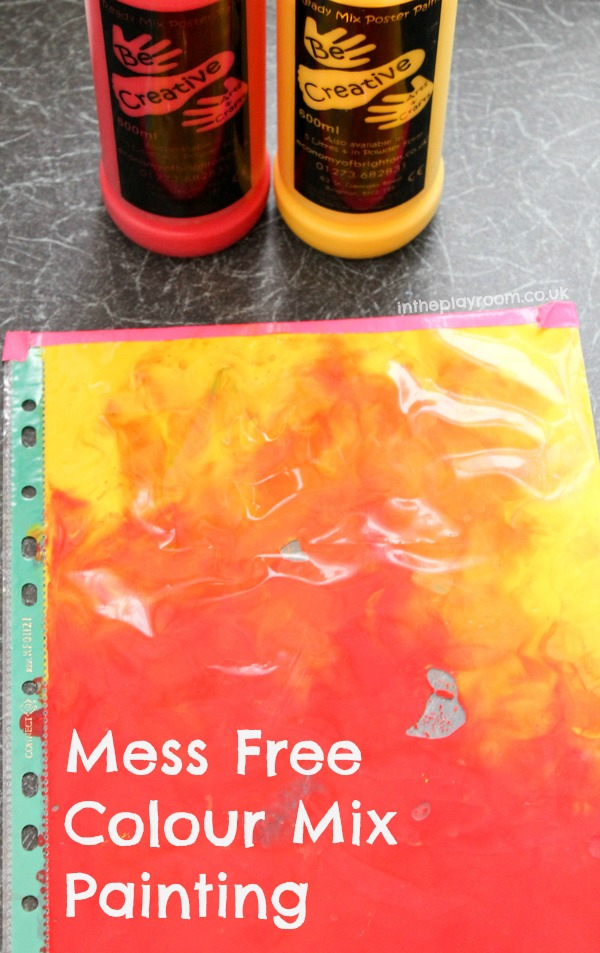 Mess Free Colour Mix Painting