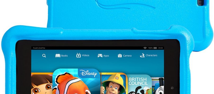 Fire HD Kids Edition_Front and Back Blue