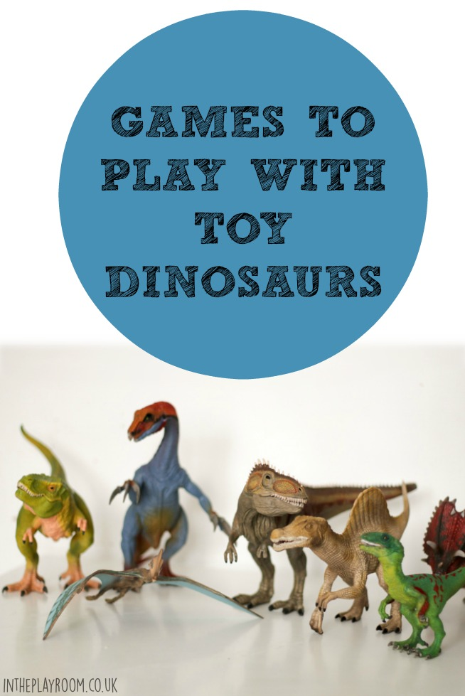 Games to Play with Toy Dinosaurs