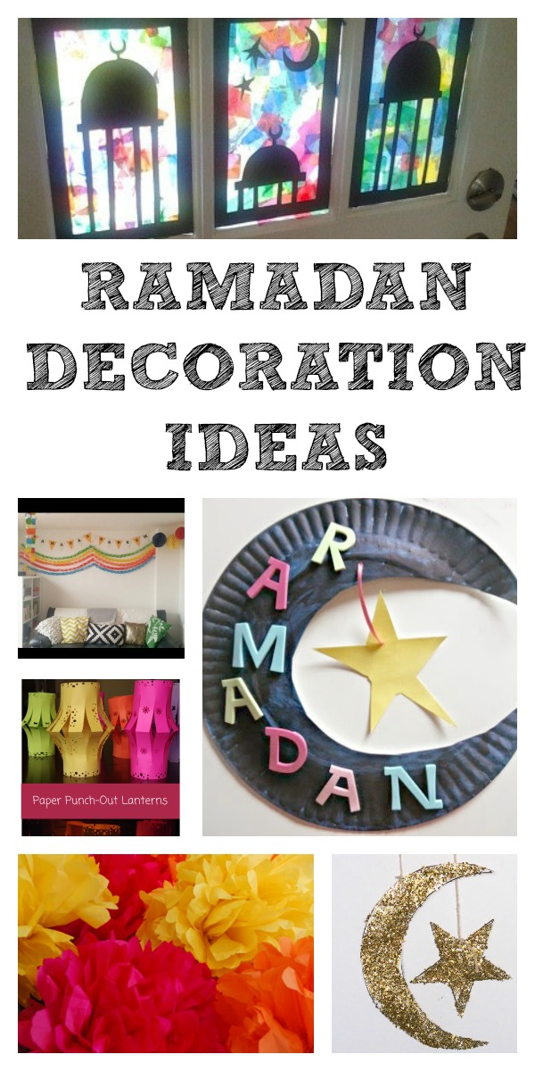 ramadan arts and crafts ideas ramadan decorations and calendars in the playroom 7087