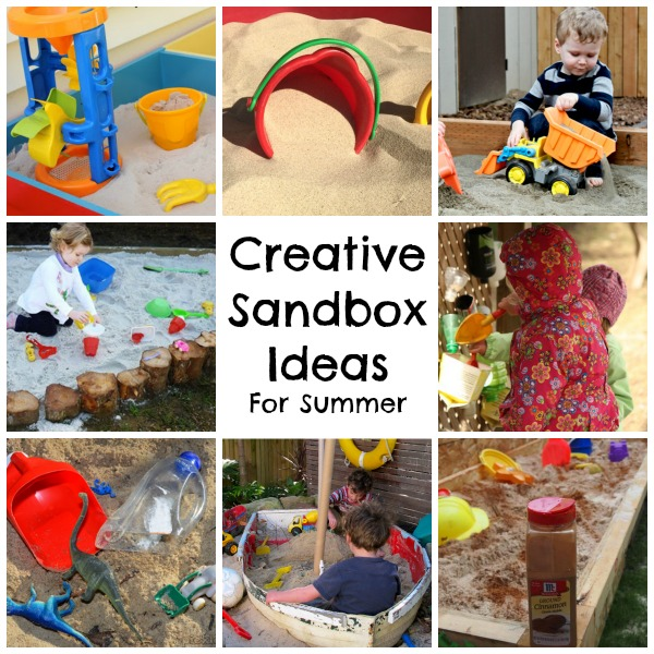 Clever And Creative Ideas For The Ultimate Playroom: Creative Summer Sandpit Ideas