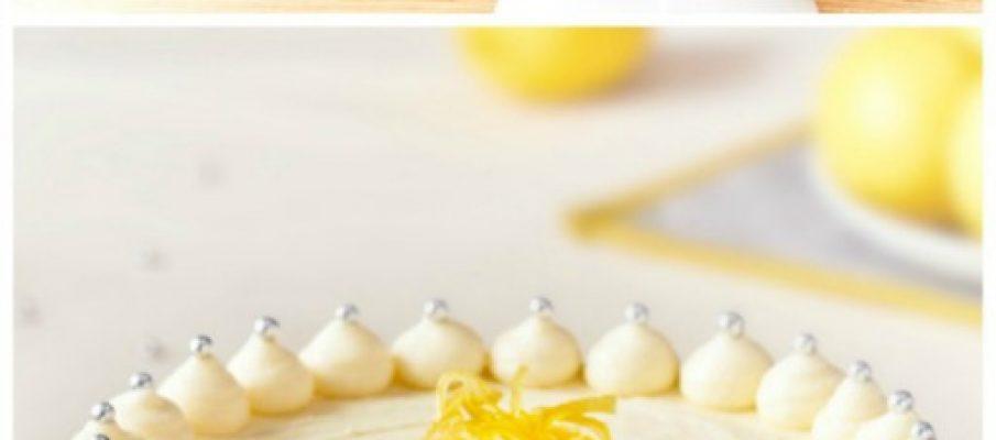 lemon-cake-collage
