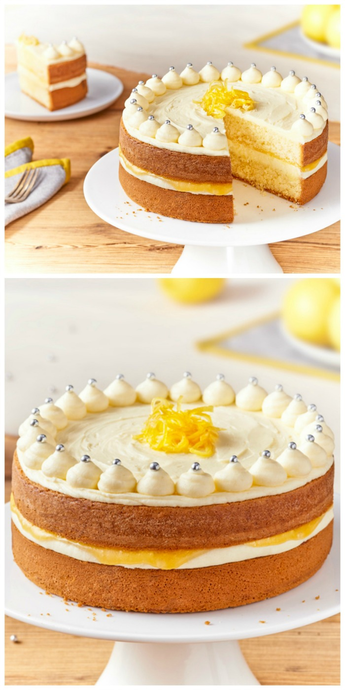 Best Lemon Birthday Cake Recipe