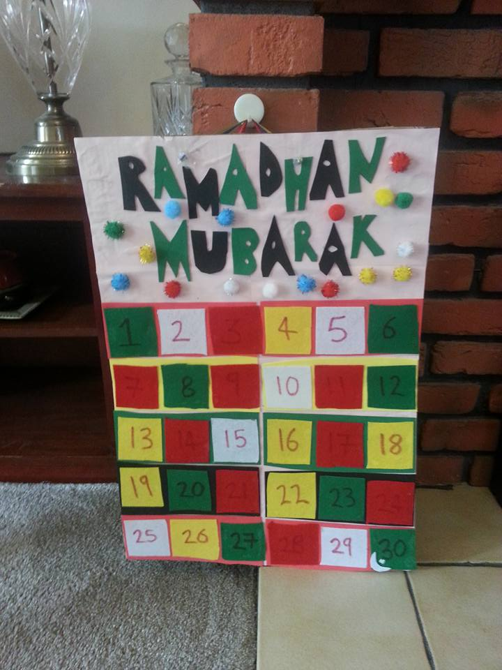 Diy Ramadan Calendar : Ramadan decorations and calendars in the playroom