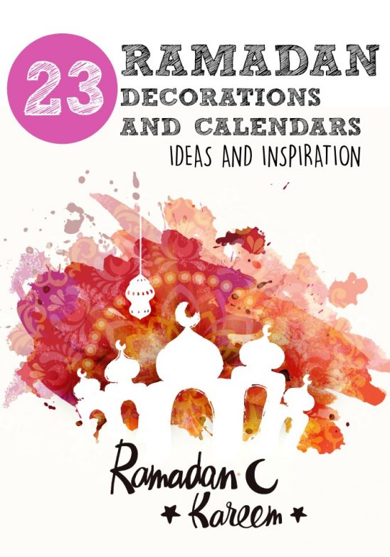 Ramadan Decorations and Calendars