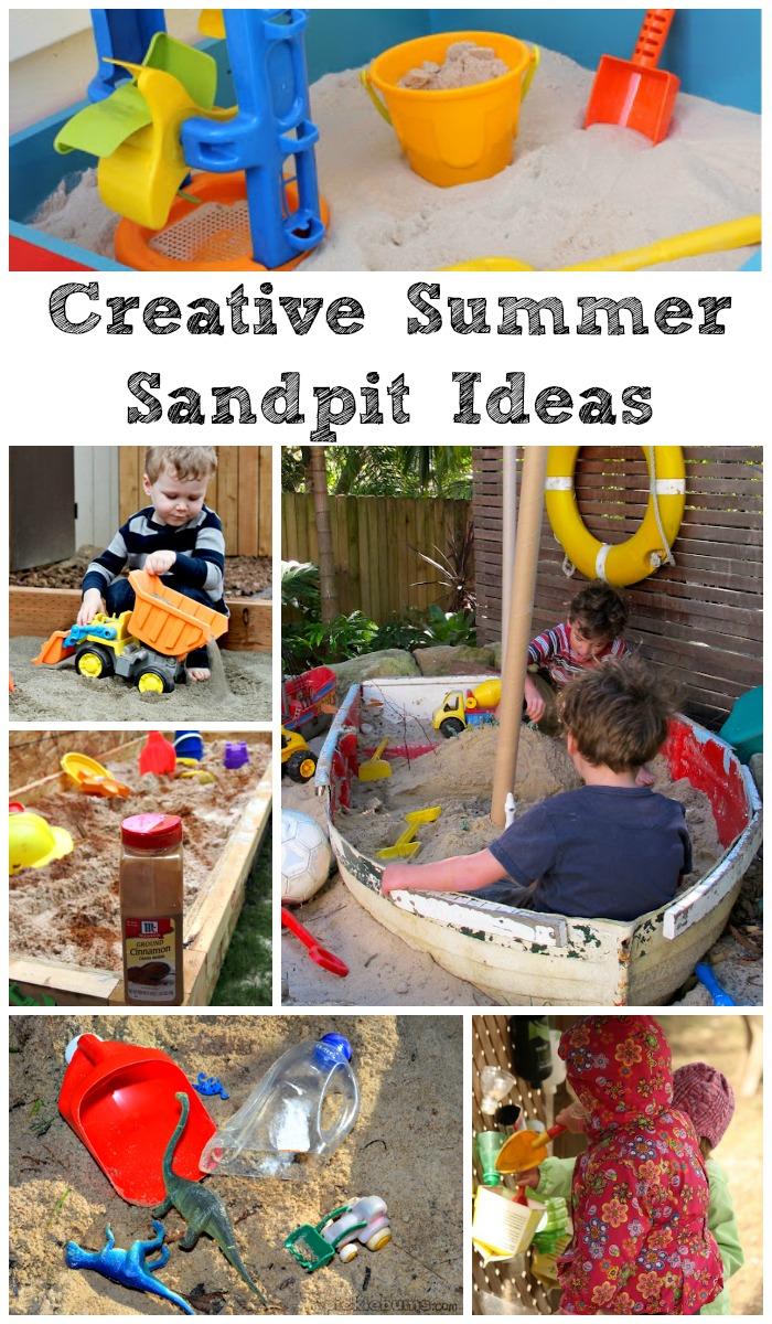 Creative Summer Sandpit Ideas