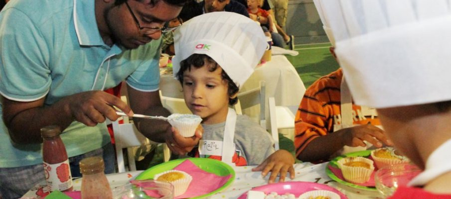 Anna Marikar - Annabel Karmel Family Cooking App Launch 3
