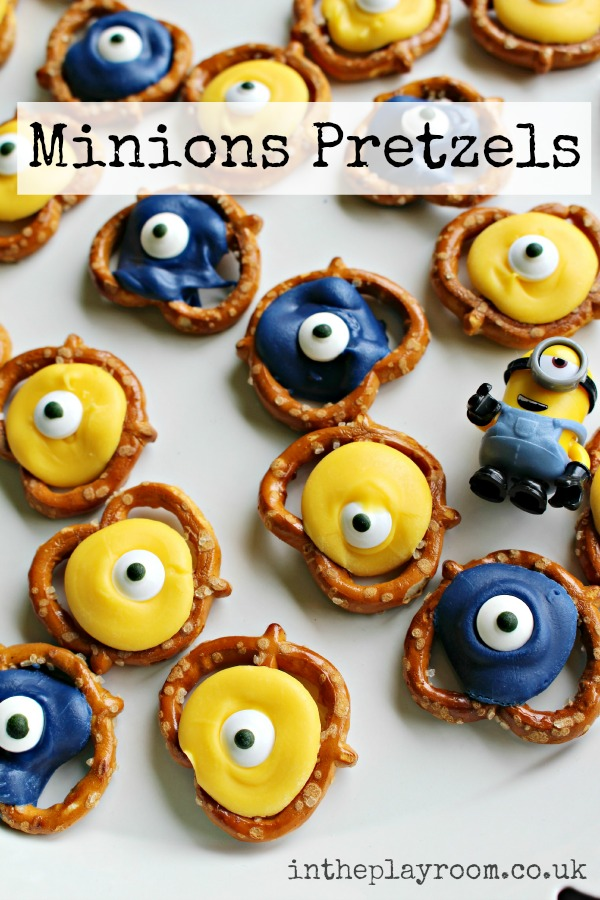 Minions Pretzels In The Playroom