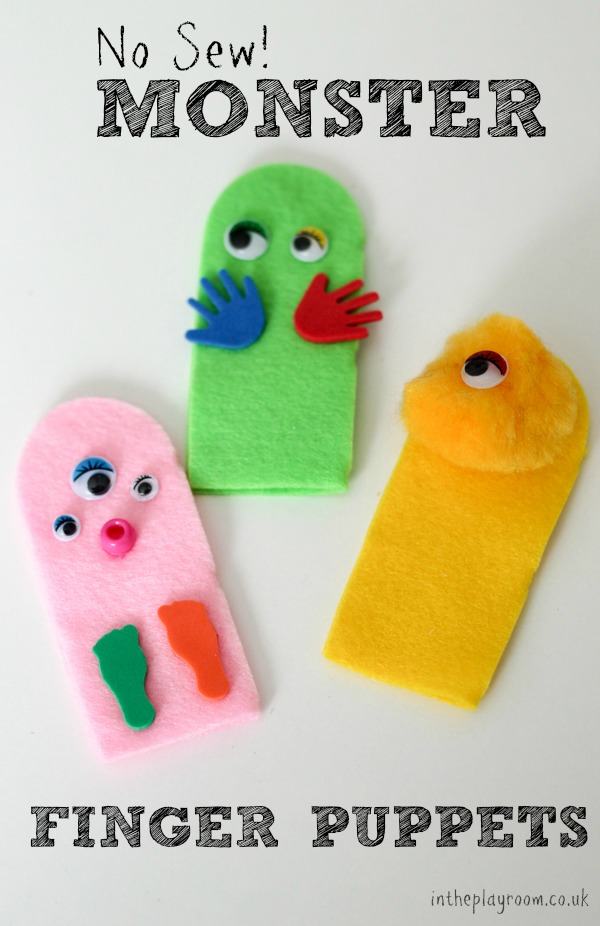 NO-SEW-MONSTER-FINGER-PUPPETS