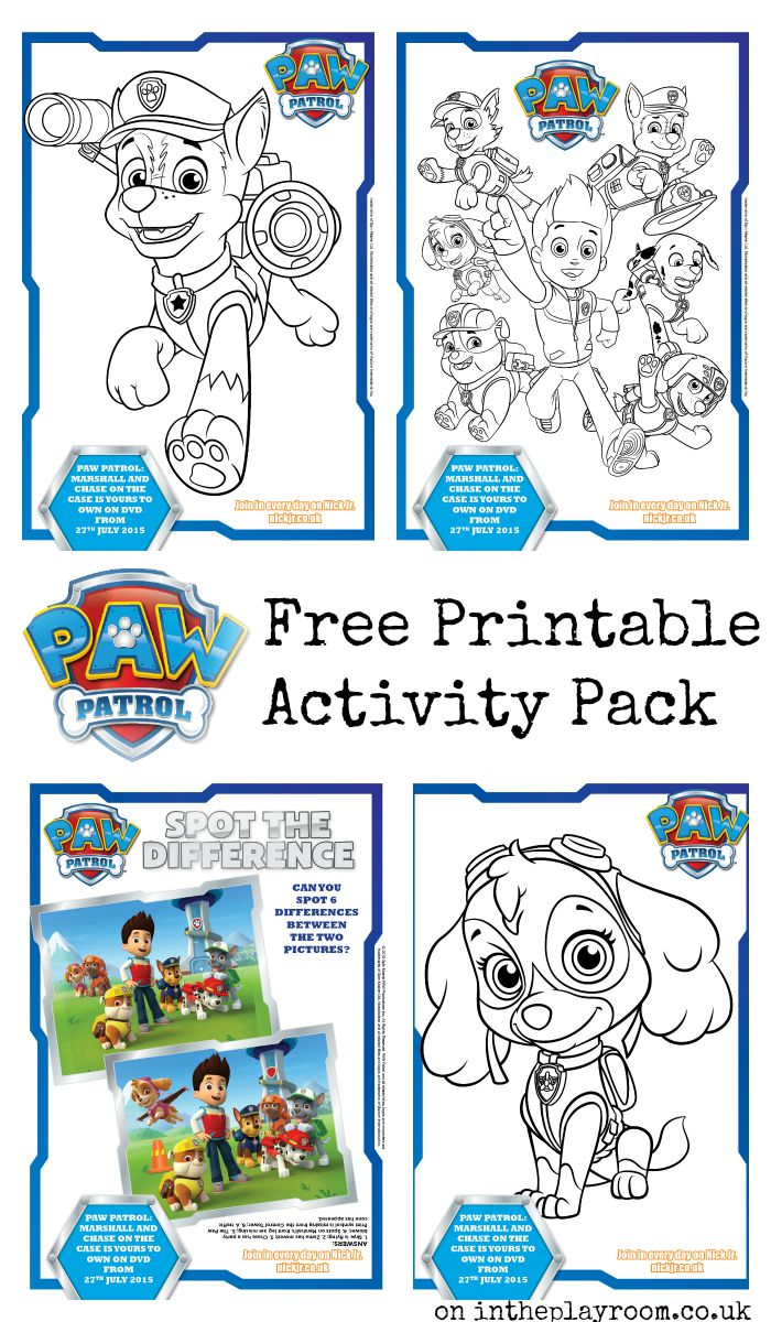 Agile image intended for printable paw patrol coloring pages
