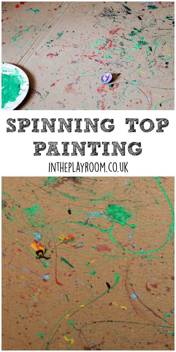 Spinning Top Painting
