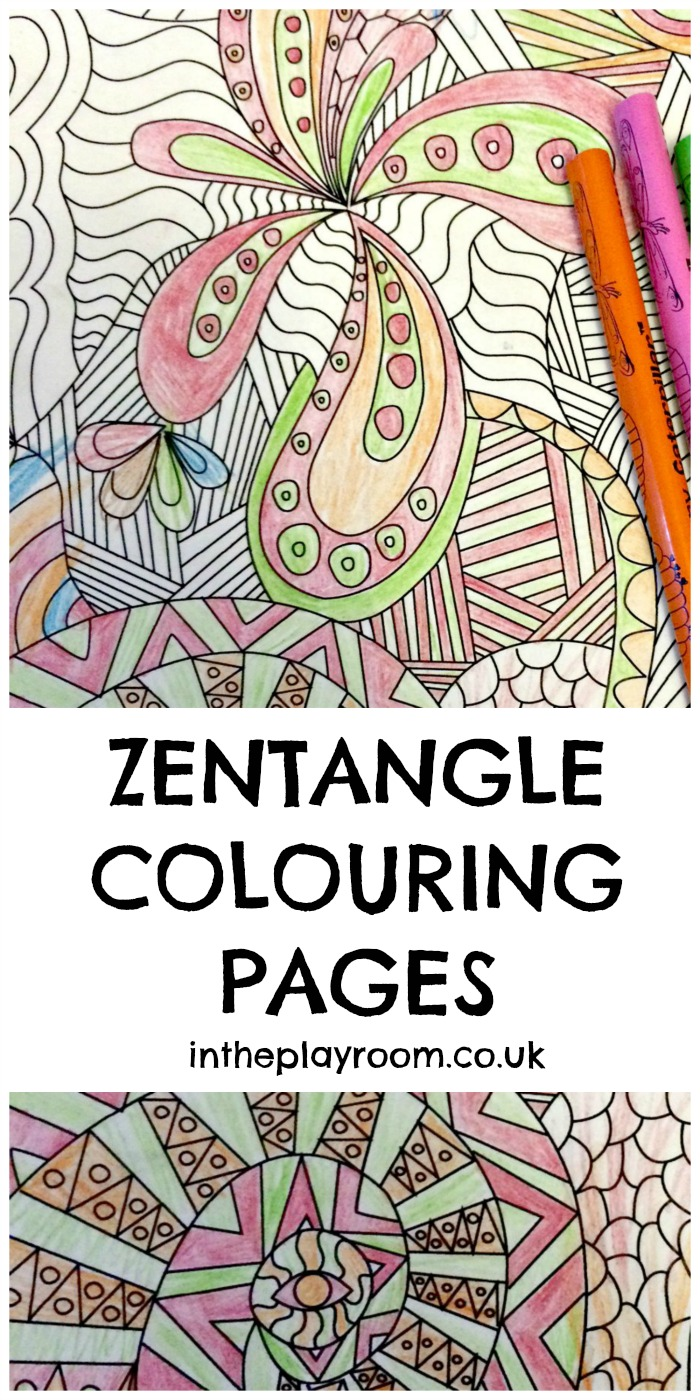 Dramatic image regarding free printable zentangle worksheets