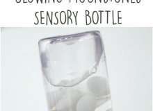 Glow in the Dark Sensory Bottles