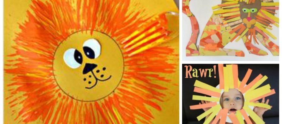 lion-craft-collage1