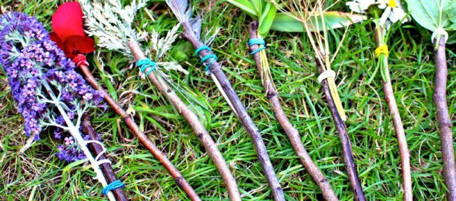 nature paint brushes