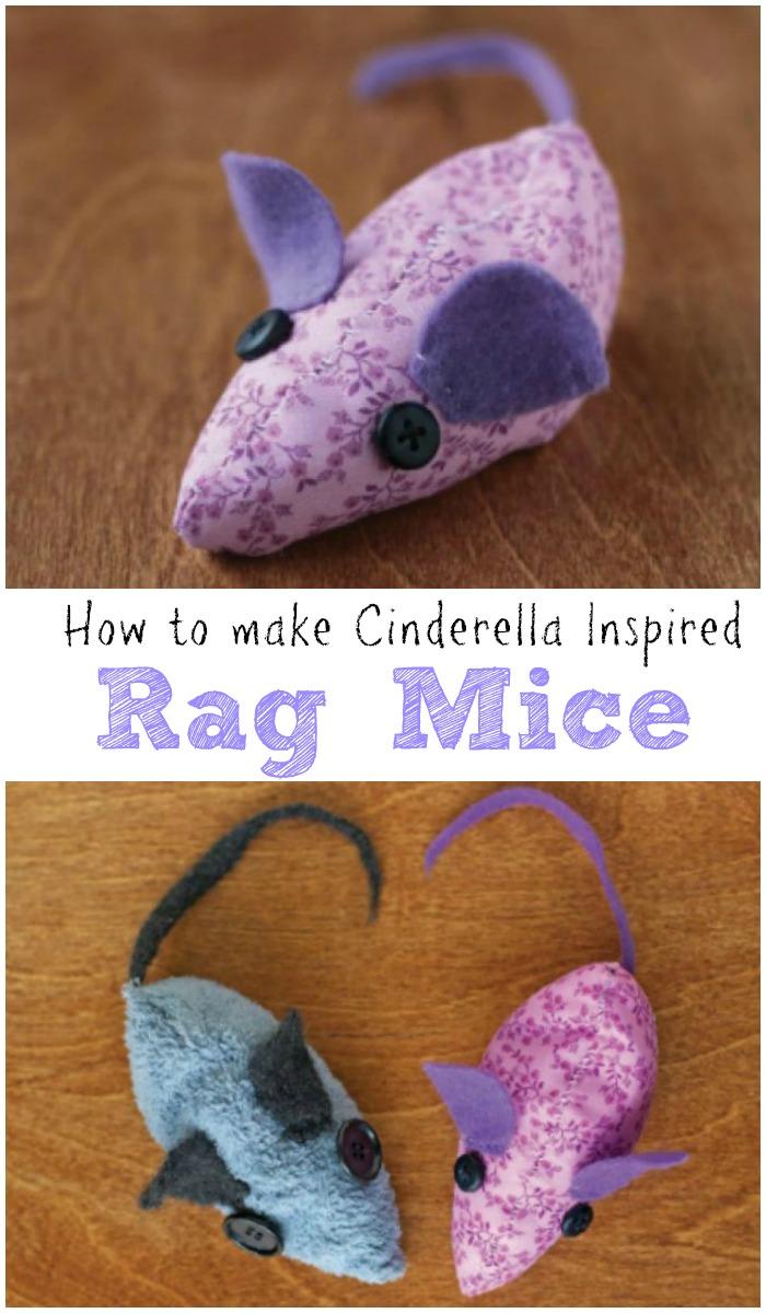 Cinderella Inspired Rag Mice Craft In The Playroom