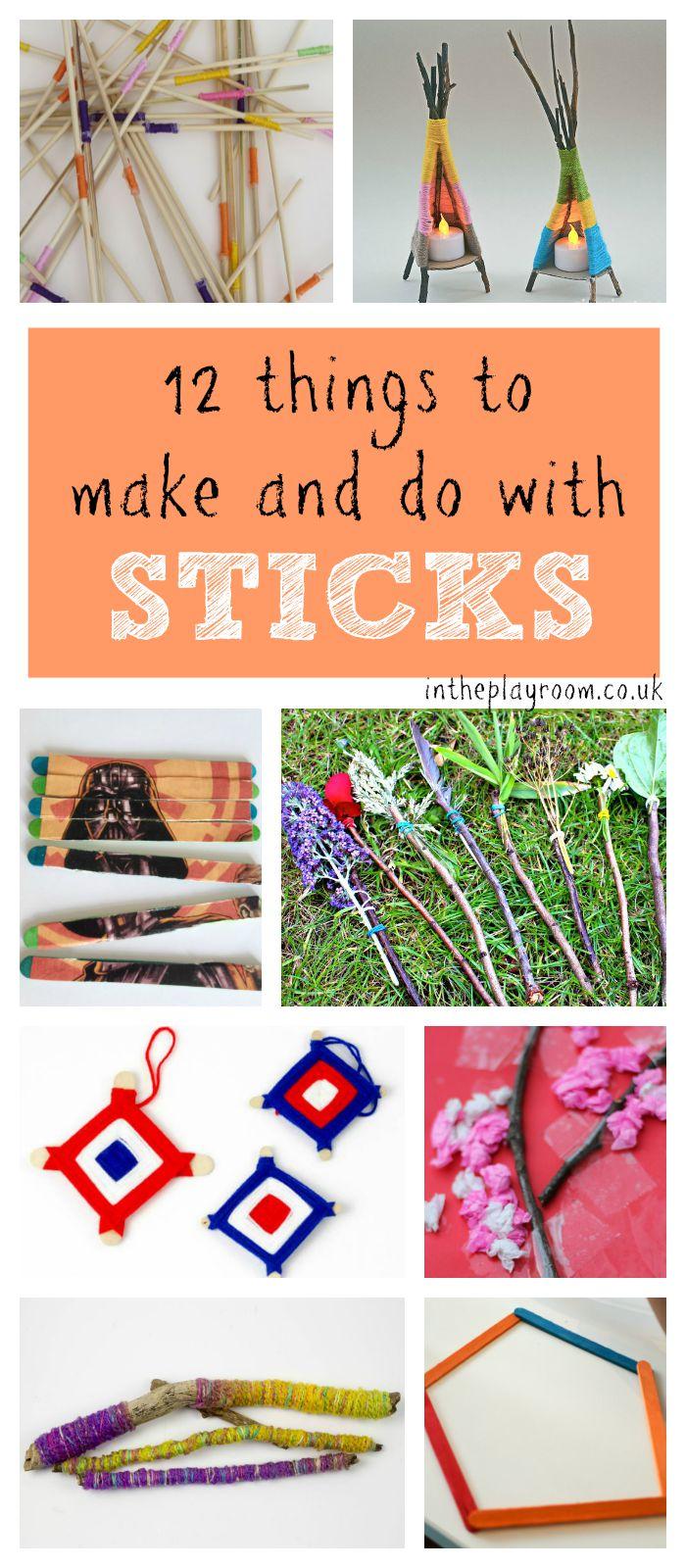 sticks-collage