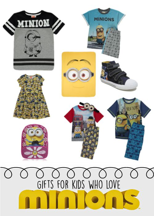 Clothes and Gifts for Kids who Love Minions