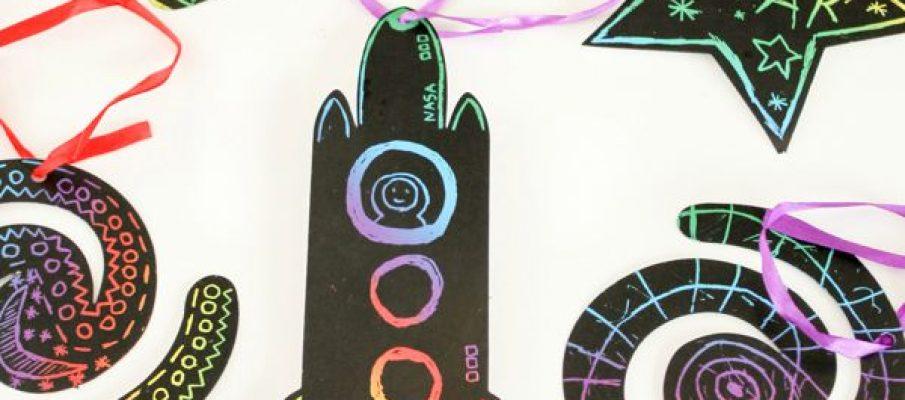 SPACE-SCRATCH-ART