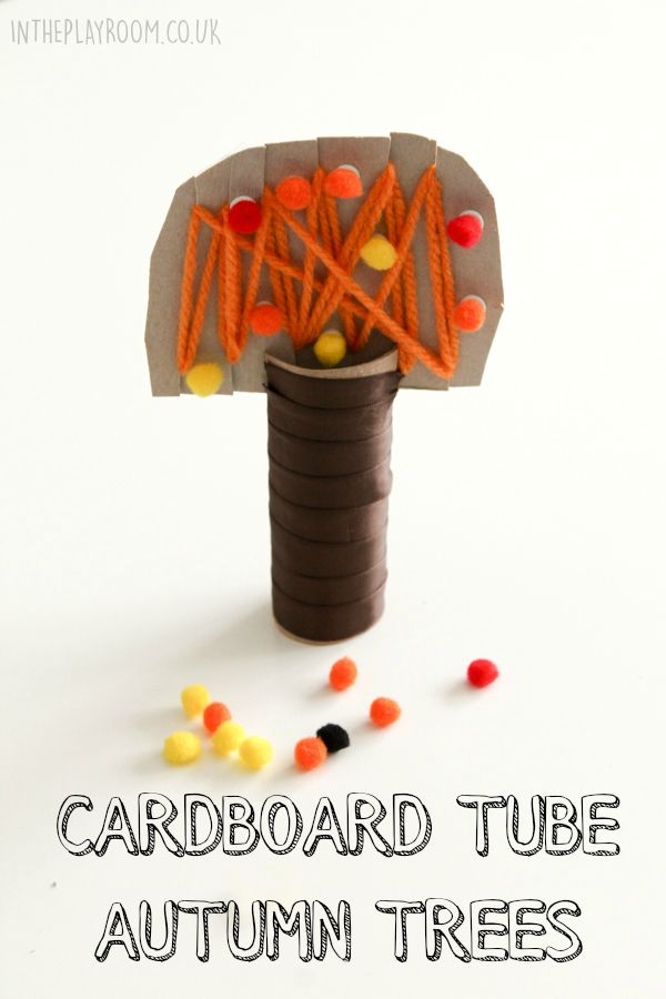 cardboard-tube-autumn-trees