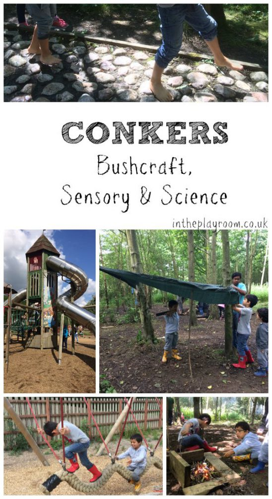 A Visit to Conkers in Leicestershire