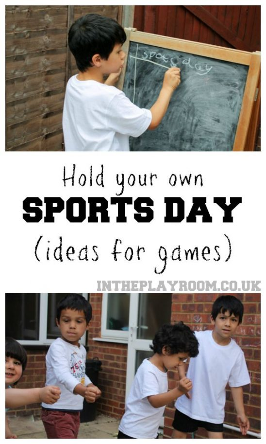 Holding Your Own Sports Day