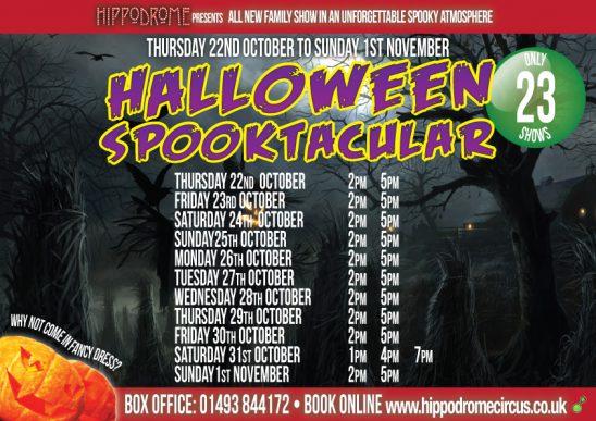 The Hippodrome's Half Term Halloween Spooktacular