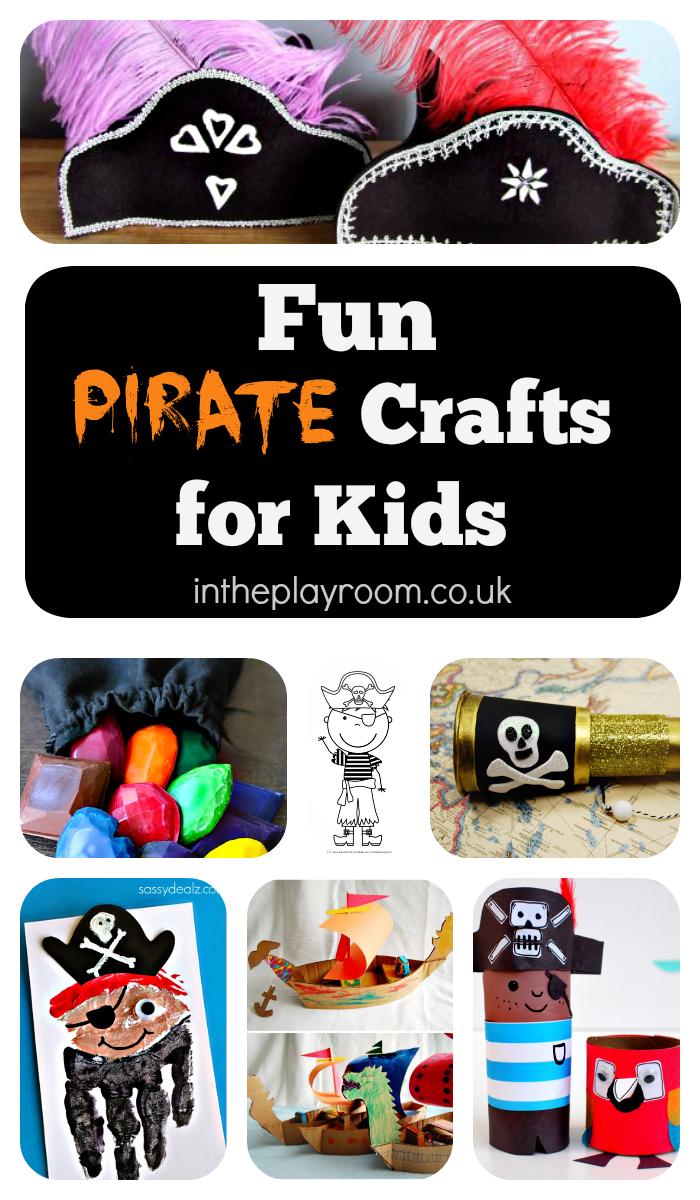 Fun pirate crafts for kids