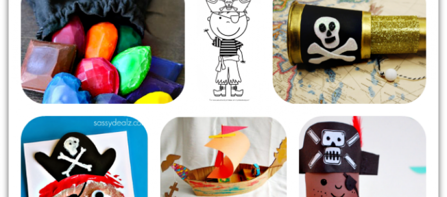 Fun pirate crafts for kids1