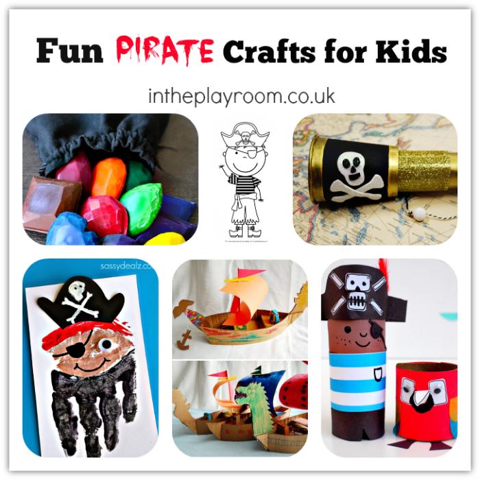 Fun pirate crafts for kids1
