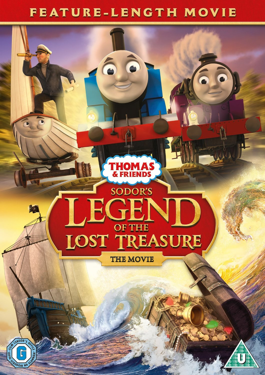 Thomas & Friends: Sodor's Legend of the Lost Treasure DVD release