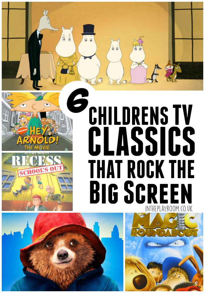 6 Children's TV Classics that Rock the Big Screen