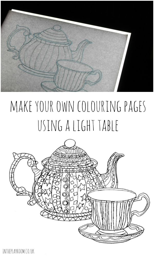 make coloring pages - photo#45