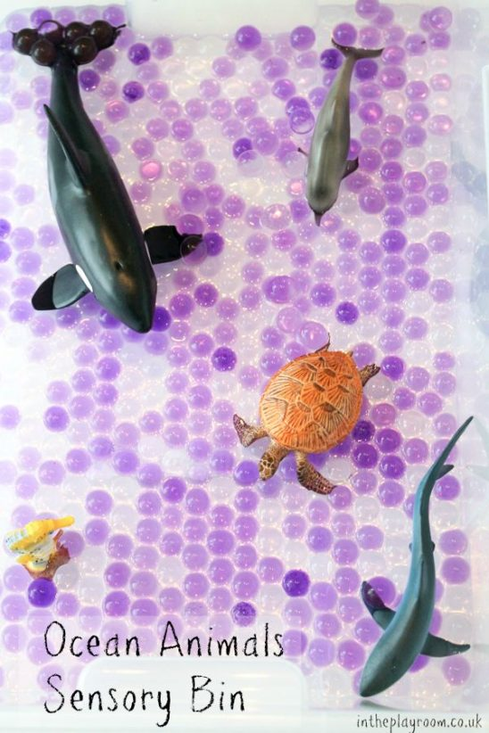 Ocean Animals Sensory Bin