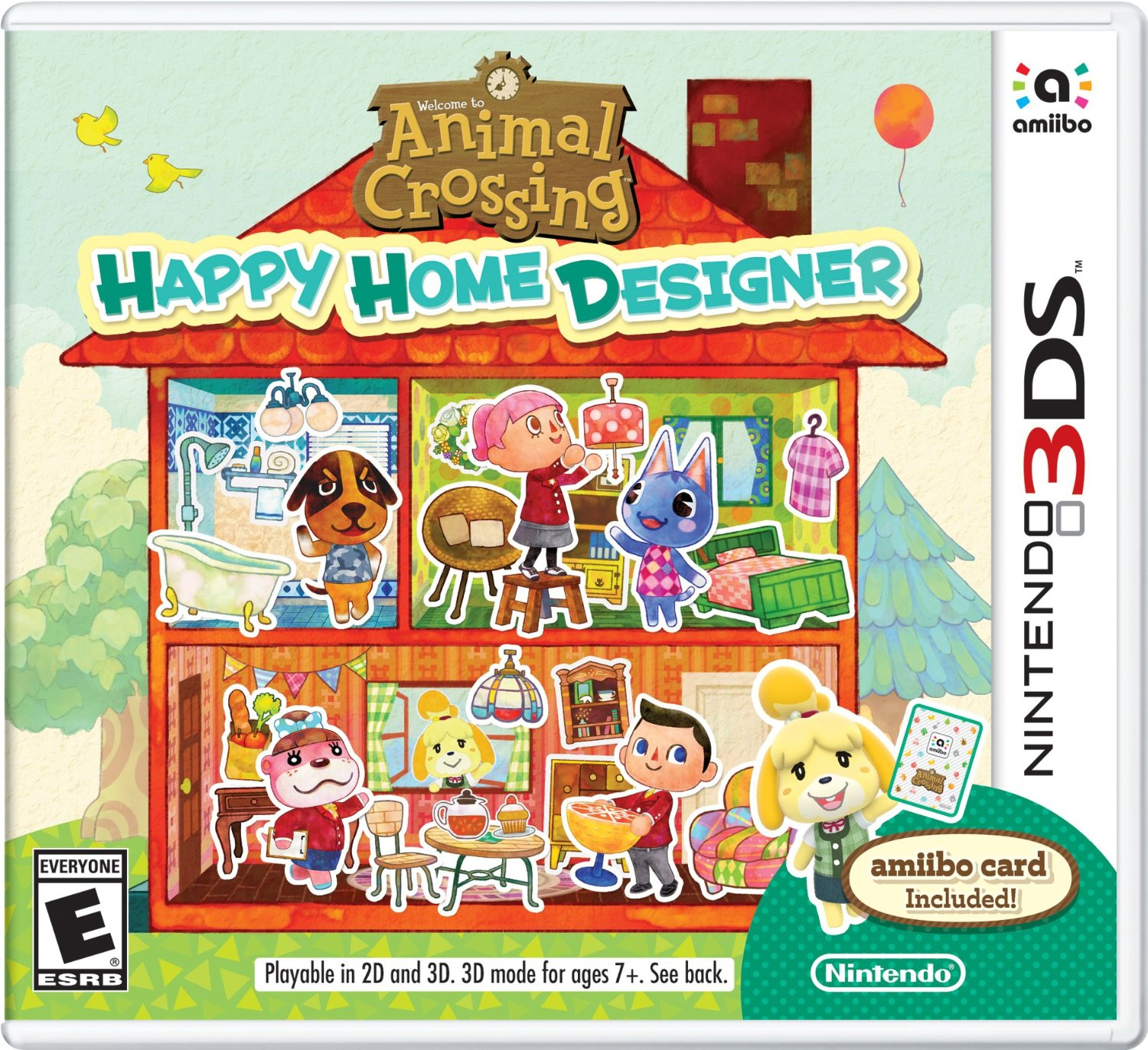 Animal Crossing: Happy Home Designer - In The Playroom
