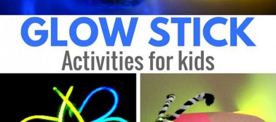 Glow Stick Activities for Kids