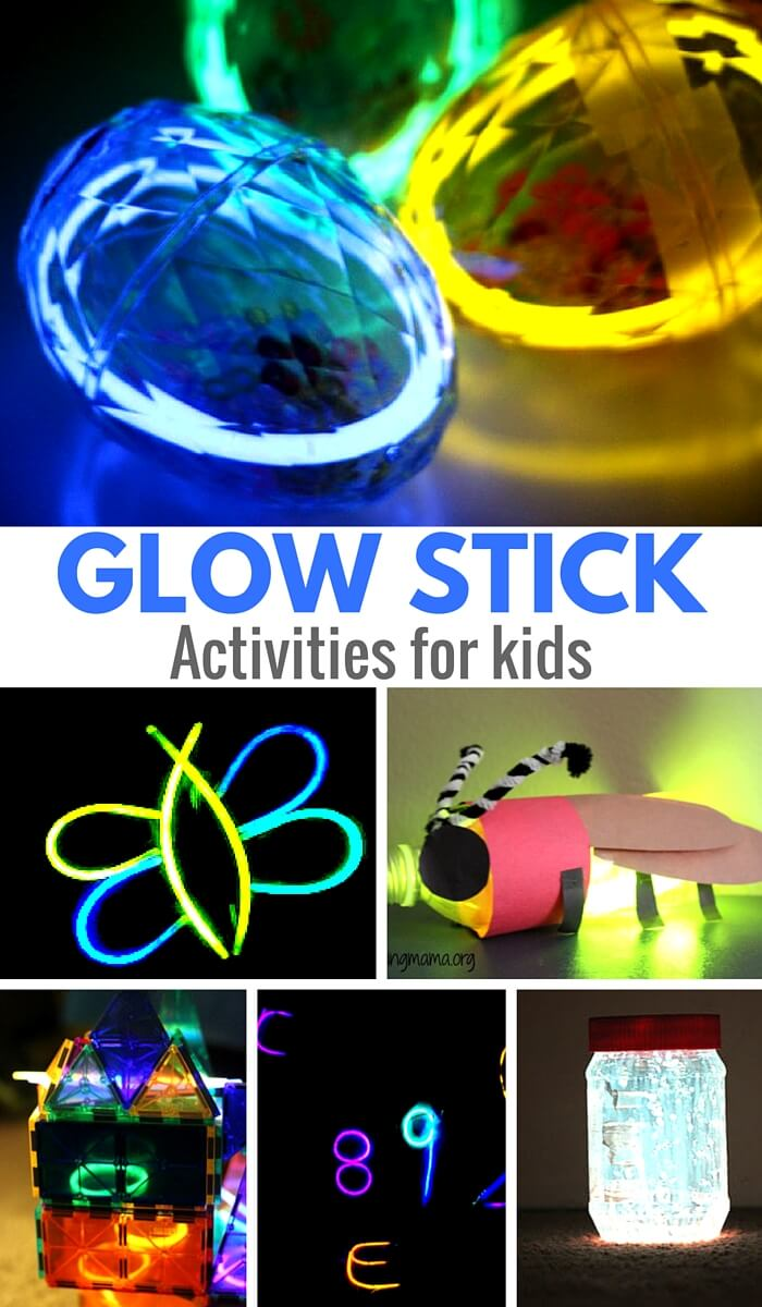 19 Super Glow Stick Activities for Kids
