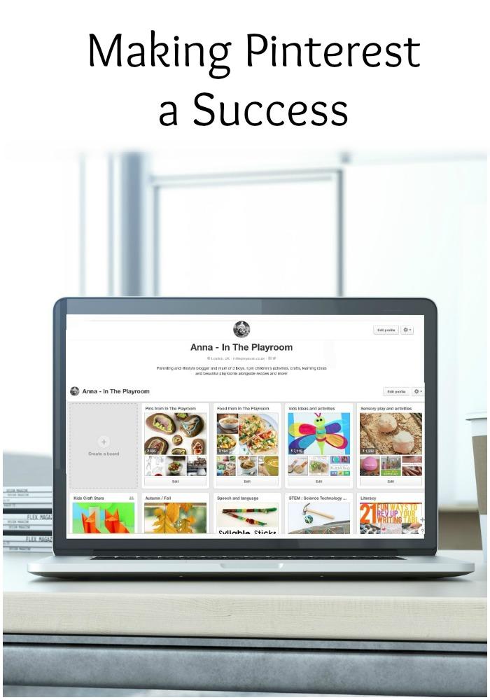 Making Pinterest a Success