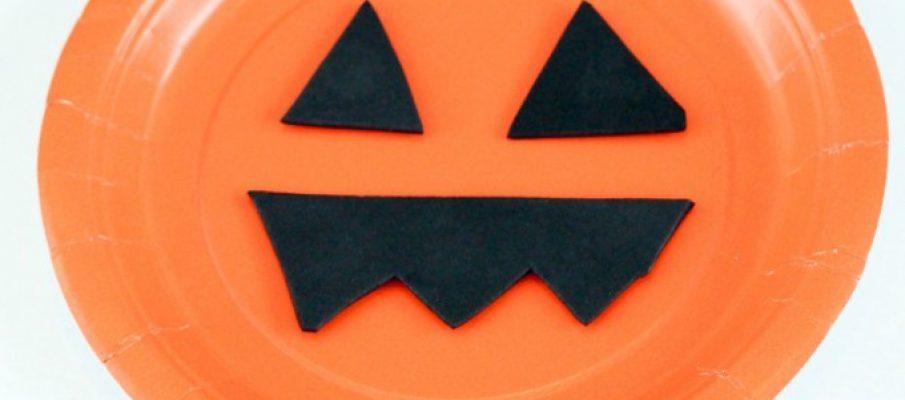 Pumpkin-Paper-Plate