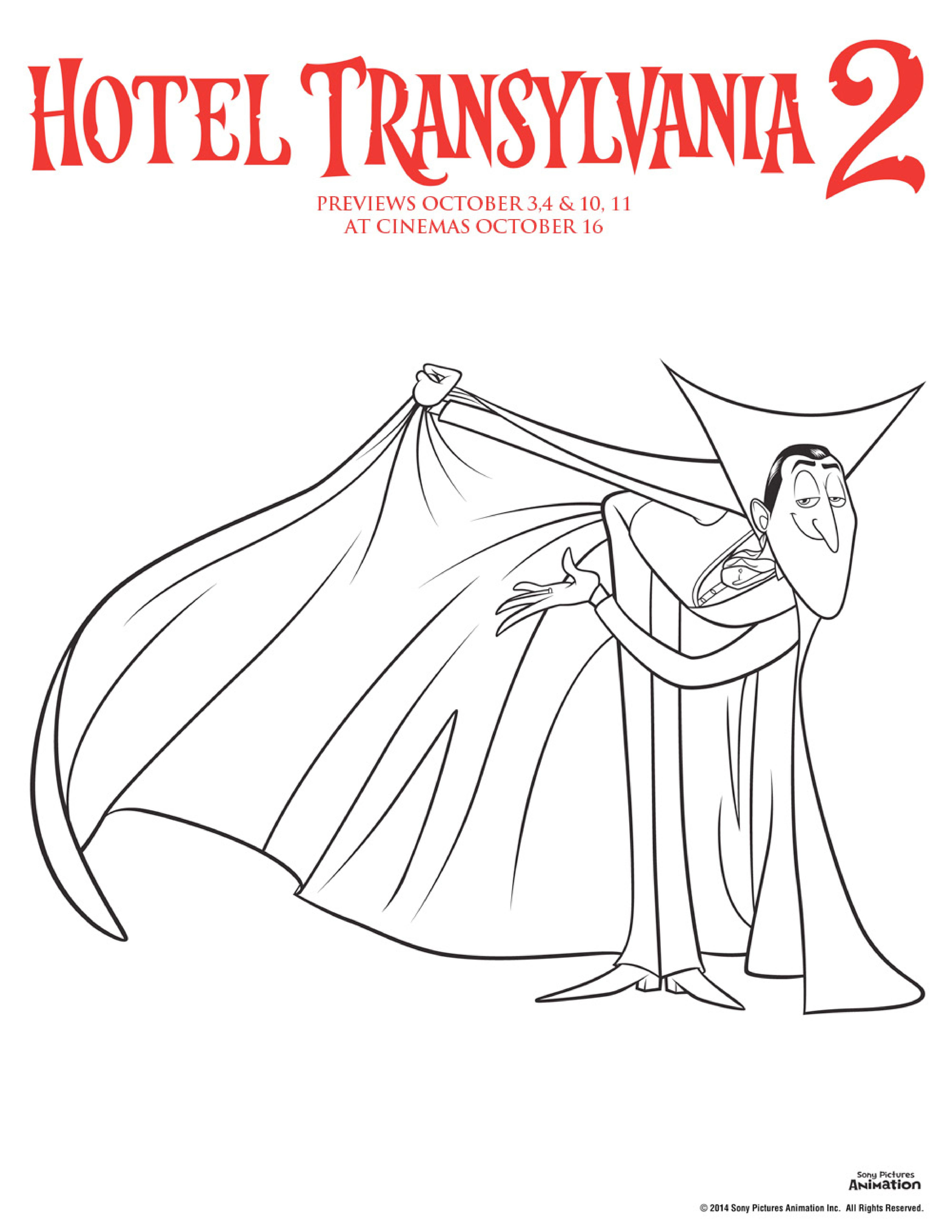 coloring pages hotel - photo#24