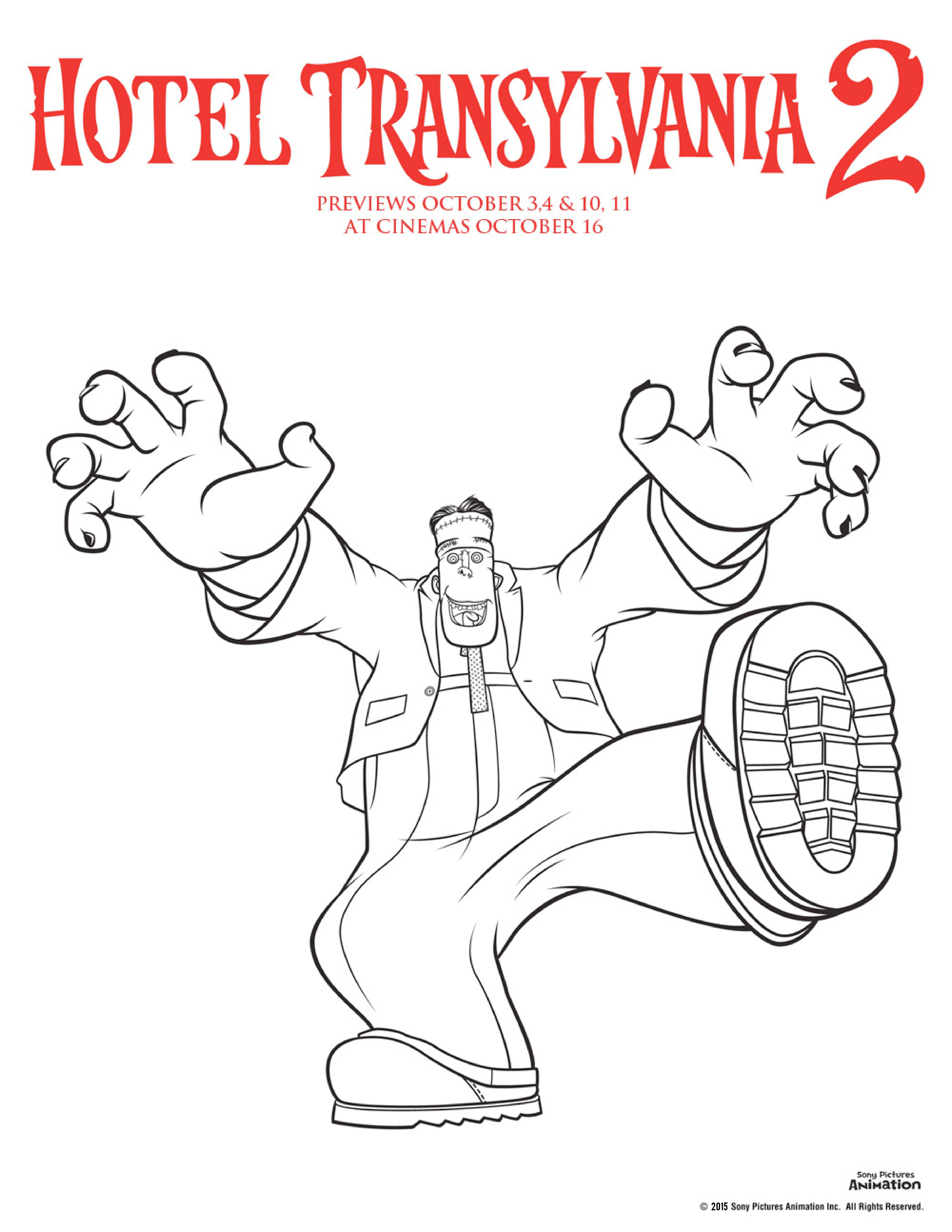 coloring pages hotel - photo#27