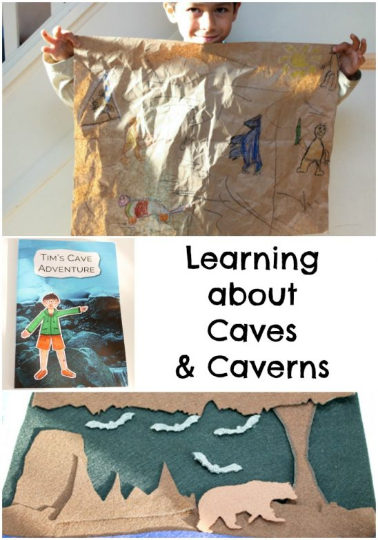 Learning about Caves & Caverns with Montessori By Mom
