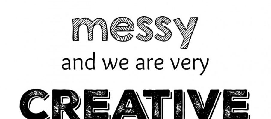 creativity-is-messy