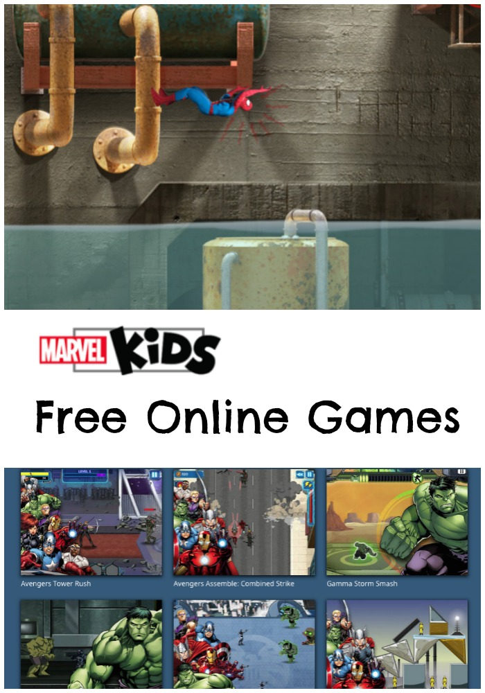 Marvel Kids Free Online Games for Kids