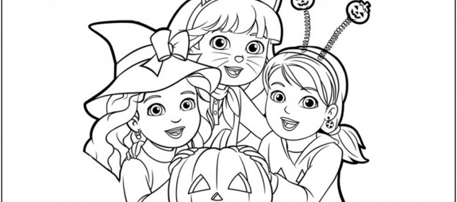 pumkin_party_week_a4_colouring_sheets